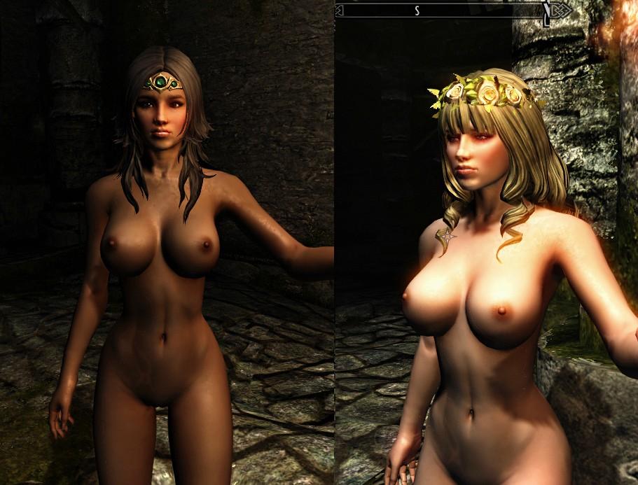 Секси мод для skyrim